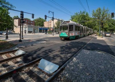 MBTA Green Line Grade Crossing Reconstruction