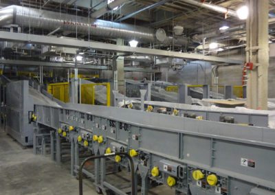 Massport Conveyor Installation C3 Bagroom