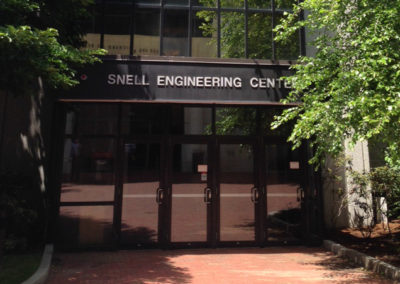 Snell Engineering Center Front Doors